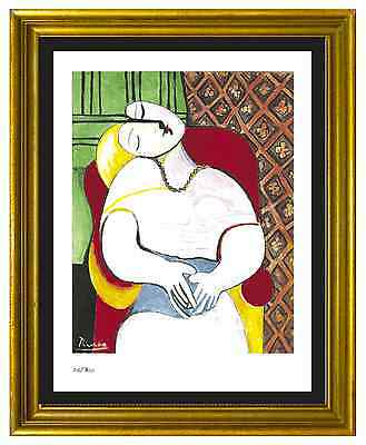 """Pablo Picasso Signed & Hand-Numbered Ltd Edition """"The Dream"""" Lithograph Print"""
