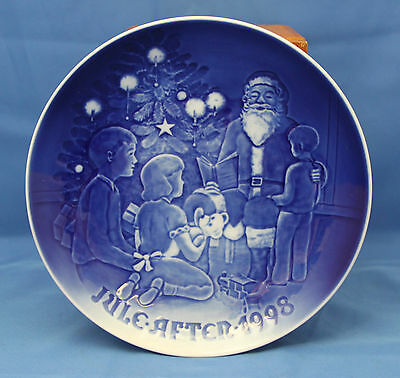 "Bing & Grondahl CHRISTMAS PLATE 1998 - Santa The Storyteller - 7.25"" B&G"