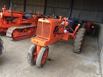 Allis Chalmers WC Vintage Tractor Has Electric Start