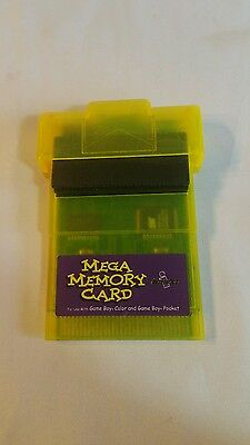 Mega Memory Card for Gameboy / Gameboy Pocket / Gameboy Color