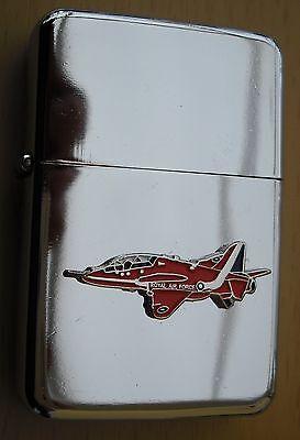 Red Arrow Plane Silver Star Lighter 3D Badge On It