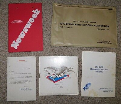 1980 DEMOCRATIC NATIONAL Convention DNC Page Pass No 000001 ABNC