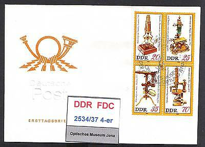 DDR, FDC 2534-2540 gestempelt, s.scan