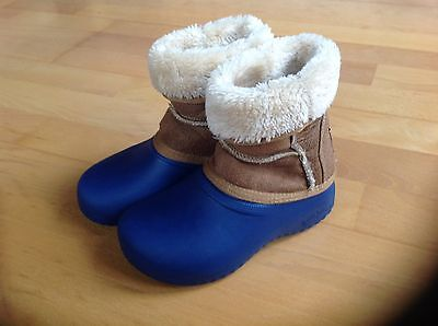 GUMBIES - Kids Warm Winter Boots - Snow - Ski Holiday - Size 12