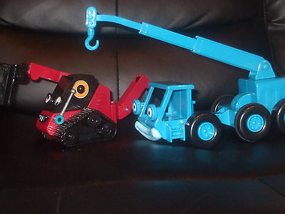 Bob The Builder Vehicles Talking Benny Fork Lift And Lofty Vehicle