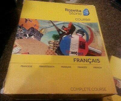 Rosetta Stone French Complete Course 1 2 3 4 5