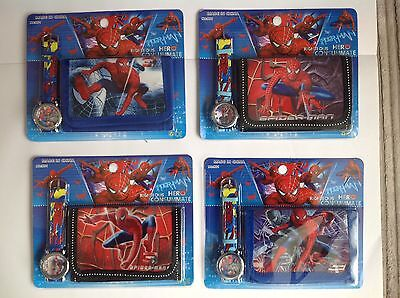 SPIDERMAN Watch and Wallet Set