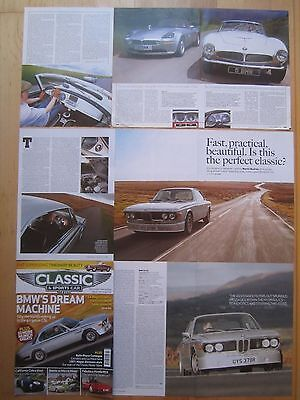 BMW 3.0 CSL Coupe & Z8 / 507 Roadster Reports & Cuttings