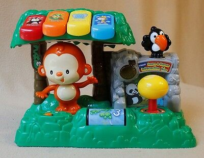 Vtech Learn & Dance Interactive Zoo, songs, music, animals sounds, monkey moves