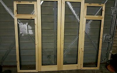 Brand New Summerhouse Doors And Windows Joiner Made.
