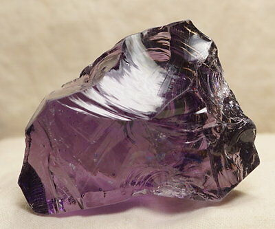 Sovereign Amethyst with rainbow Monatomic Andara Crystal 88.6 g.