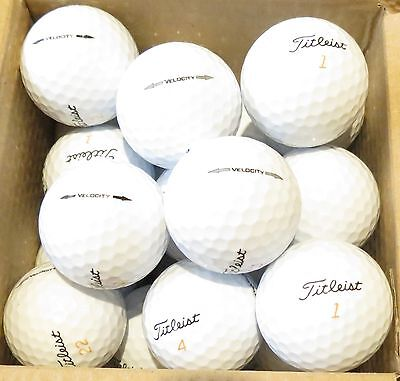 Titleist VELOCITY GOLF LAKE BALLS Select Grade & Quantity - Cheapest on eBay!