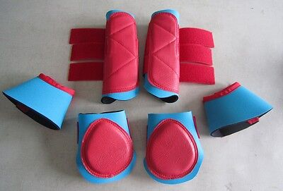 Horse Exercise boots /backboots/bellboots Combo SAVE Any colour/size you like
