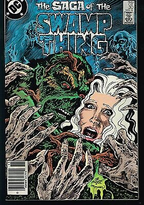 Saga Of Swamp Thing # 30 VF DC Comics Key Alan Moore
