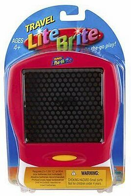 Red LITE-BRITE? Travel Edition by Hasbro