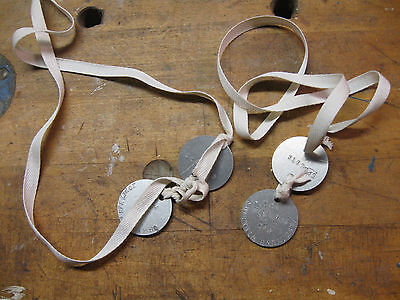 WW1 dog tag sets US world war 1 dog tags reproduction, custom stamping.