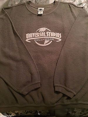 *New* Universal Studios Hollywood Men's Large Pullover Sweater 100% Cotton