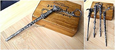 Harry Potter Costume Witches Wizard Magic Small Wand Key Chain all Types