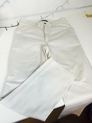 RM Williams Cream Unisex Pants Size W31 L32 Like New Condition