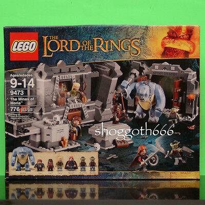 Lego Lord Of The Rings 9473 The Mines Of Moria Cave Troll Boromir New Sealed Set
