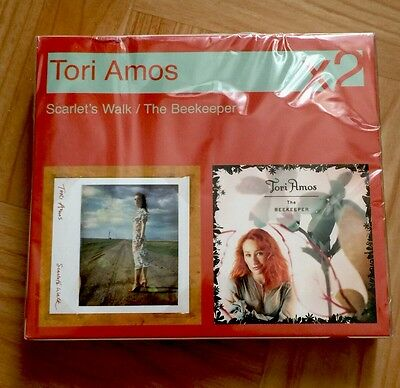 Tori Amos 'scarlet's Walk/the Beekeeper' X2 Very Rare Collectible German Import!