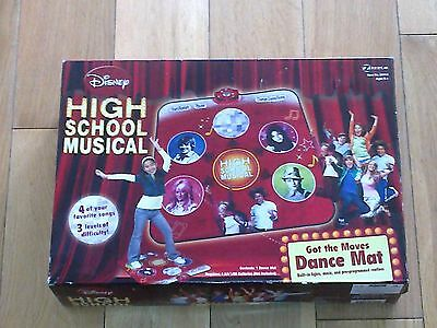 Vintage Disney High-School Musical 1st version Dance Mat No.06114 Boxed Mint