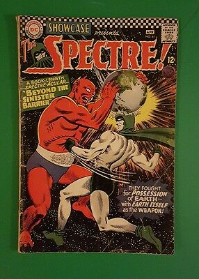 Showcase #61 2nd Silver Age Spectre Appearance DC Comics 1966 FN Nice!
