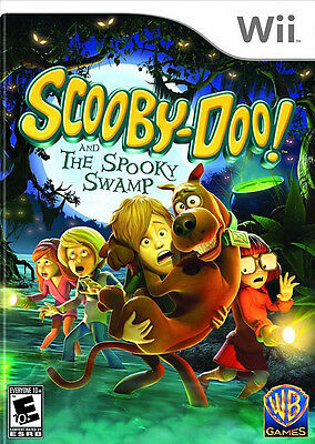 Scooby-Doo And The Spooky Swamp (Nintendo Wii)