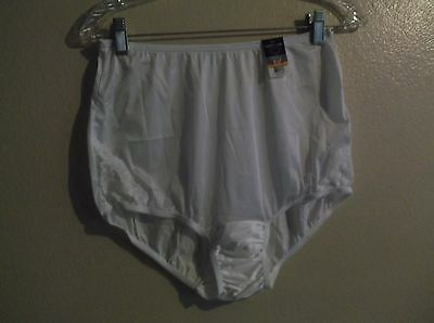 Vanity Fair Perfectly Yours Lace panties Silky S white nos nwt Vintage Style 7/L