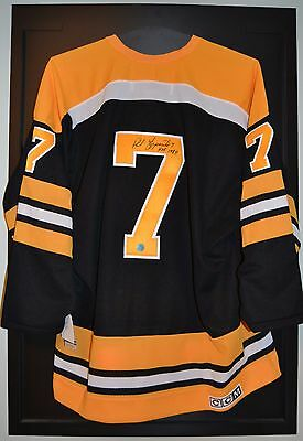 Phil Esposito Boston Bruins Signed Vintage CCM Jersey with HOF