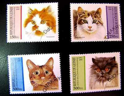 1291-93, 1295-96 Domestic Cats Cto Og 1995 (See Note)