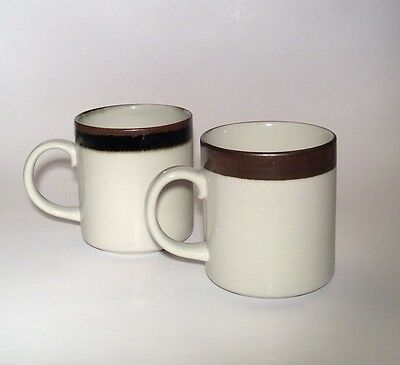 Arabia Finland Karelia Set of 2 Tall Coffee Mugs 3 3/4""