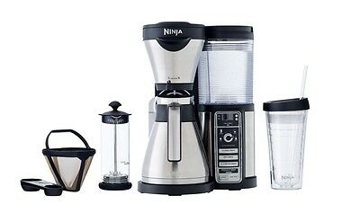 Brand New Ninja Coffee Bar Brewer, Thermal Carafe, Milk Frother For Latte And +