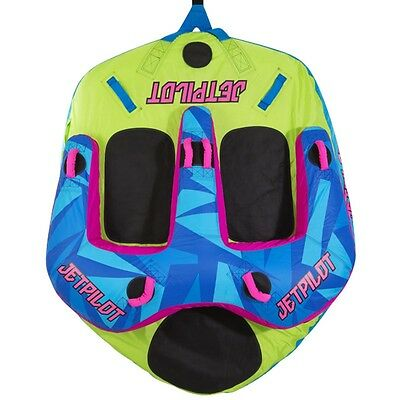 Jet Pilot Freeride 3 Towable Ski Tube Inflatable Biscuit Boat Ride