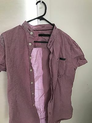 Men's Small Shirts Calvin Klein Country Road