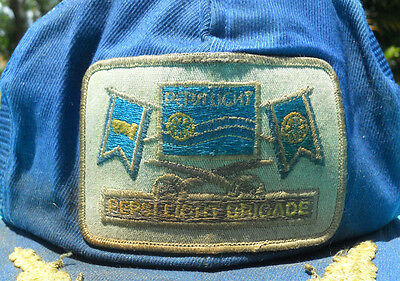 Vintage 1970s Pepsi Light Brigade Patch from a snapback hat
