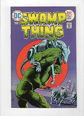 Swamp Thing #17 (Jul-Aug 1975, DC) - Fine/Very Fine
