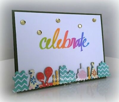 Die-versions - Birthday Border die - for use in most cutting systems!