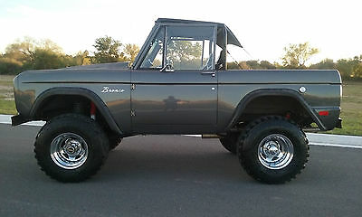 1969 Ford Bronco Hard Top/Soft Top -Half Cab  1969 Bronco,4x4,jimmy,lifted,land cruiser,landrover,hotrod,truck,ford,cj7,jeep
