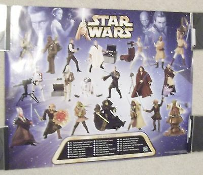 Star Wars Action Figure Posters Lot