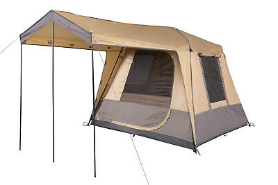 Oztrail Fast Frame Tourer 240  4 Person Man Family Tent Instant Up Quick Pitch