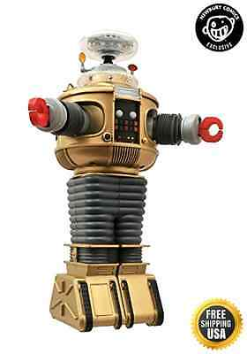Lost In Space Electronic Lights & Sounds B9 Robot Golden Boy Edition New