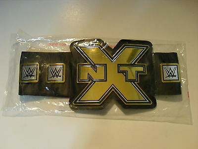 Wwe Wrestling Adult & Child Size Toy Replica Nxt Championship Title Belt New!