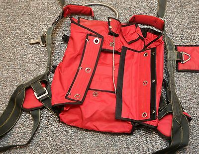 Old school RED pilot emergency parachute container
