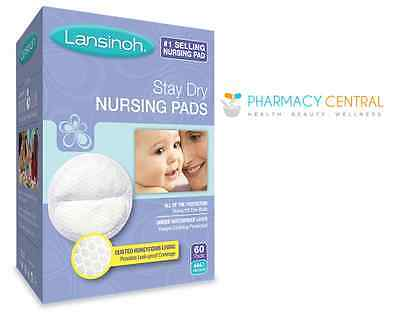 Lansinoh Stay Dry Disposable Nursing Pads 60s