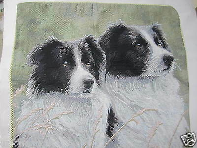 BORDER COLLIE Dog Pup Puppy seat cushion cover Us un030