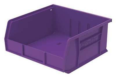 "Purple Hang and Stack Bin, 10-7/8""L x 11""W x 5""H AKRO-MILS 30235PURPL"