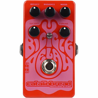 Catalinbread Bicycle Delay Guitar Effects Stompbox Pedal NEW!
