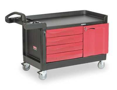 Trade Cart/Service Bench,750 lb.,Black