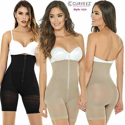 20b92e6d26 Latex Strapless Fat Weight Loss Body Shaper Fajas Colombianas Thermal Sweat  Slim